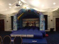 Frozen bouncy castle 12ft by 12ft