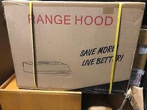 Brand New Range Hood1802N 30-inch Stainless Steel  (For Pick Up Only)