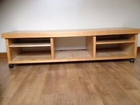 TV Stand/Bench in pine - from Ikea