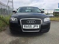 2006 (55) AUDI A3 1.6 FSI SPORTS***MOT TILL 2018***IMMACULATE CONDITION**PART EXCHANGE WELCOME