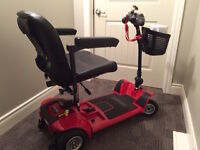 Brand New GoGo Ultra X 4 Wheel Mobility Scooter