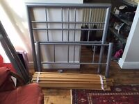 Single bed frame + mattress if required