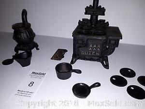 Mini Cast Iron/ Metal Stoves and Accessories