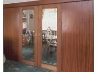 2 internal glass decorative doors **Excellent Condition**