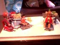 playmobil beach /camp set
