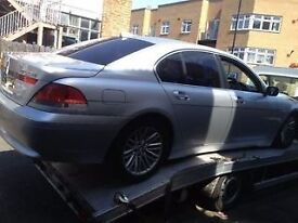 04 BMW 730 ALL DOOR AND BACK BUMPER AVALIABLE SILVER