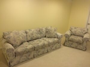Matching Couch and Chair- very good condition