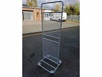 Shop Display Stand on wheels
