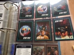 1991 star trek and next generations cards