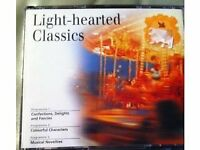 LIGHT HEARTED CLASSICS, 3 X CD SET ALBUM,READERS DIGEST,NEW & SEALED
