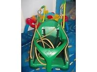 Quadpod 4 in 1 Swing Seat. For ages 6 months to 8 years.