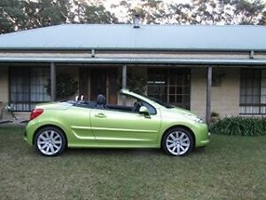2009 Peugeot 207 Convertible Medowie Port Stephens Area Preview