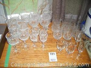 Crystal Glasses A