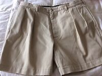 RALPH LAUREN POLO CHINO pre-loved beige MENS' SHORTS 38W 100% cotton
