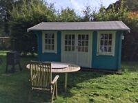 Luxury Log cabin summer house