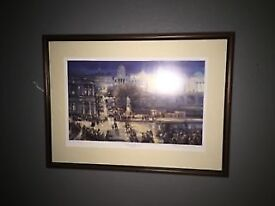 SIGNED ERIC AULD PRINT - HEART OF THE CITY