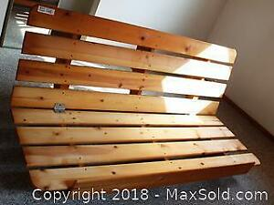 "Double/Queen Futon Frame Pick up in Time-slot ""C"" ONLY"