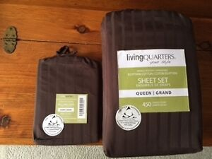 COTTON SHEET SET  - NEW