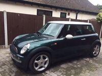 2002 Green Mini Cooper 1.6 Manual Petrol for sale in Essex