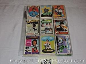 O-Pee-Chee and Upper Deck, Pinnacale and Hat Hats Hockey Cards