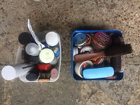 Shoe shine products - collection