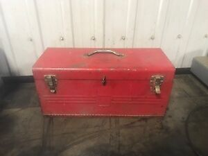 2 Steel Toolboxes for sale