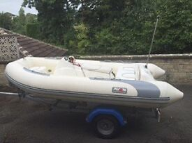2003 AVON Sea Sport Jet Rib 320 – with new trailer in 2012. See pictures of its great condition
