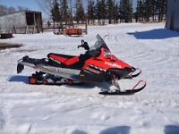 Snowmobile mint condition.