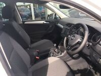VW TIGUAN MK2 BMT CHEQUER CLOTH INTERIOR FRONT AND REAR SEATS 2016 - 2017