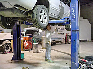 Undercoating, Tire Changing and Auto Repairs