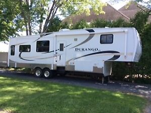 Roulotte fifth wheel Durango Canadien Édition LX 3255 KZ-VR