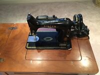 SEWING MACHINE & ATTACHMENTS