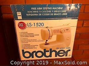 Brother Free Arm Sewing Machine in Box