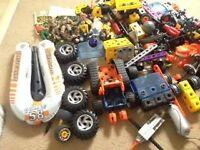 Meccano Various + Motor