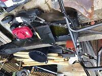 Honda Pro mowers x3