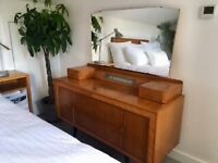 Complete 1960's Retro Bedroom Suite Mid - Century