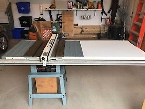 """Delta 10"""" Table Saw with Beisemeyer Fence System"""