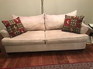 Well looked after cream sofa and love seat from Leons for sale