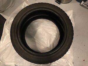 4 pneus d'hiver 18 pces