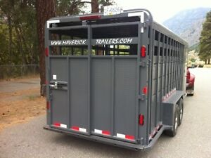 Special Offer Maverick Stock Trailer Take Over the Lease Payment Williams Lake Cariboo Area image 4