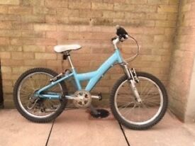 Girls revolution bike with suspension,bargain £45,Originally £190,good condition,regularly serviced
