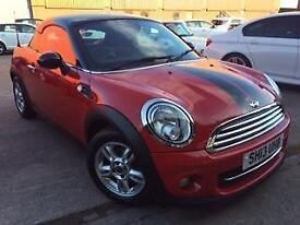2013 Mini Coupe 1.6 Cooper 2dr 2 door Coupe