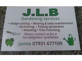 J.l.b gardening services
