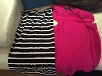 Ladies Size 10 clothing bundle. Tops; shirts and Dresses - all good quality
