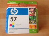 3 Genuine HP Inkjet Print Cartridges