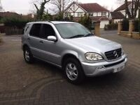 2003 Mercedes ML270 cdi ,7 Seater, Automatic,Grey leather interior