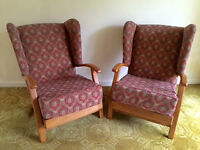 1930s Small Arm Chairs x 2
