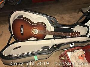 Guitar and Case A