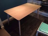 Lime Oak Dining Table