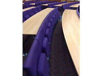 Lecturer Theatre Seating and Workbench